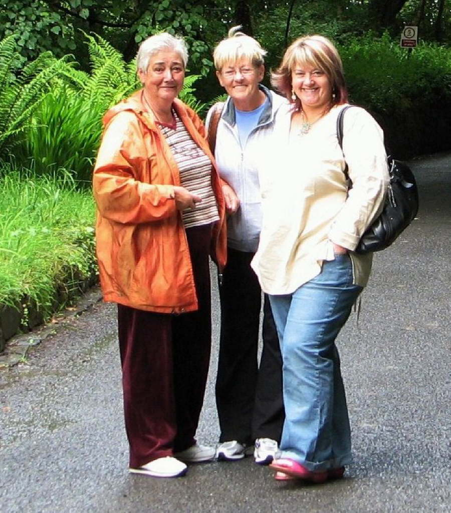 Frances, Rosaleen and Kathy